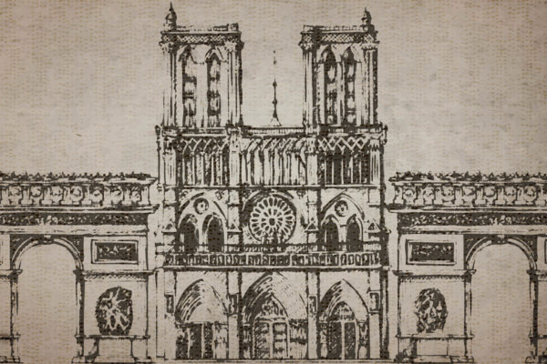 Cathedral Fabric Back Drop