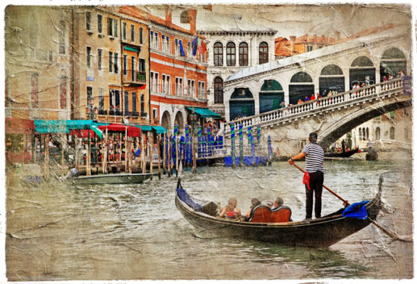 Gondola Fabric Back Drop