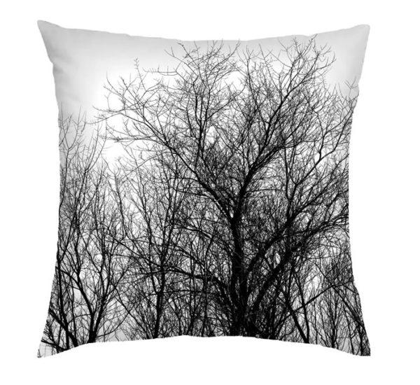 Black Winter Nest Cushion