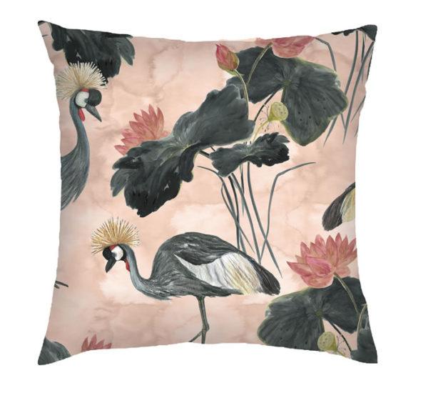 Foliage Bird Cushion