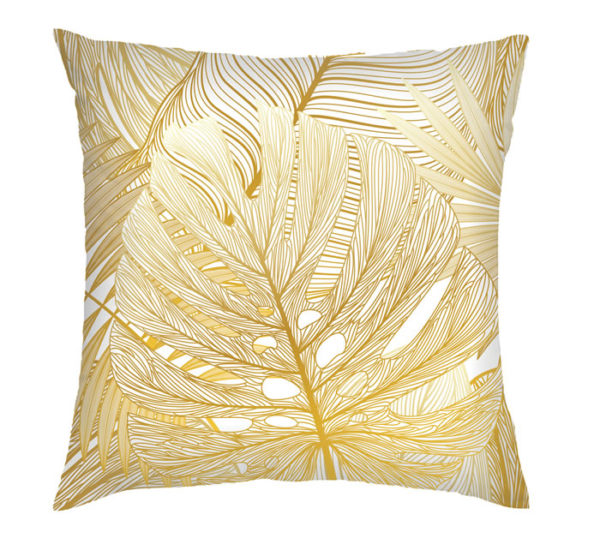 Gold Tropical Cushion