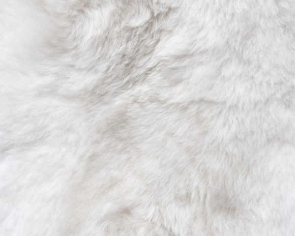 White Fur Flat Lay Board
